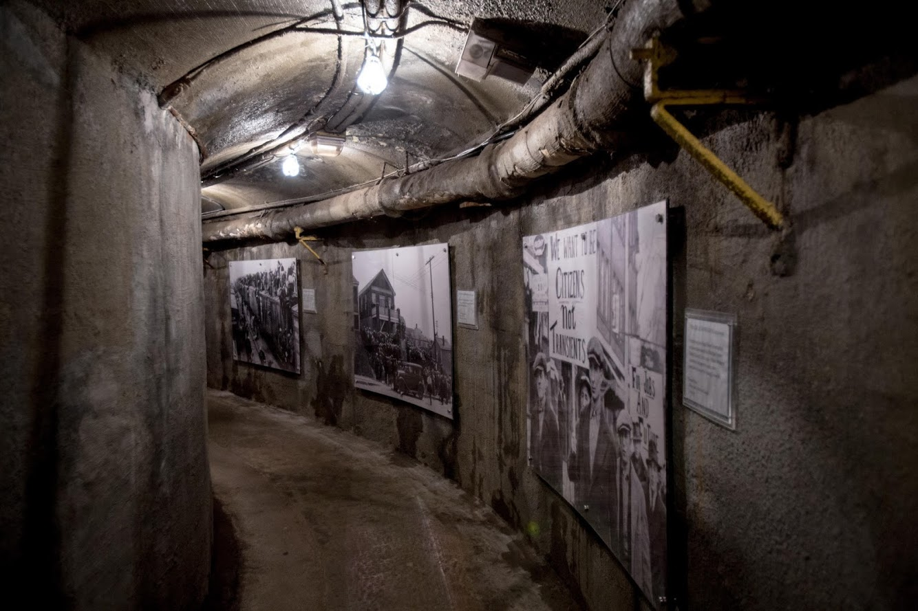 The Dark Side Tunnel Exhibit