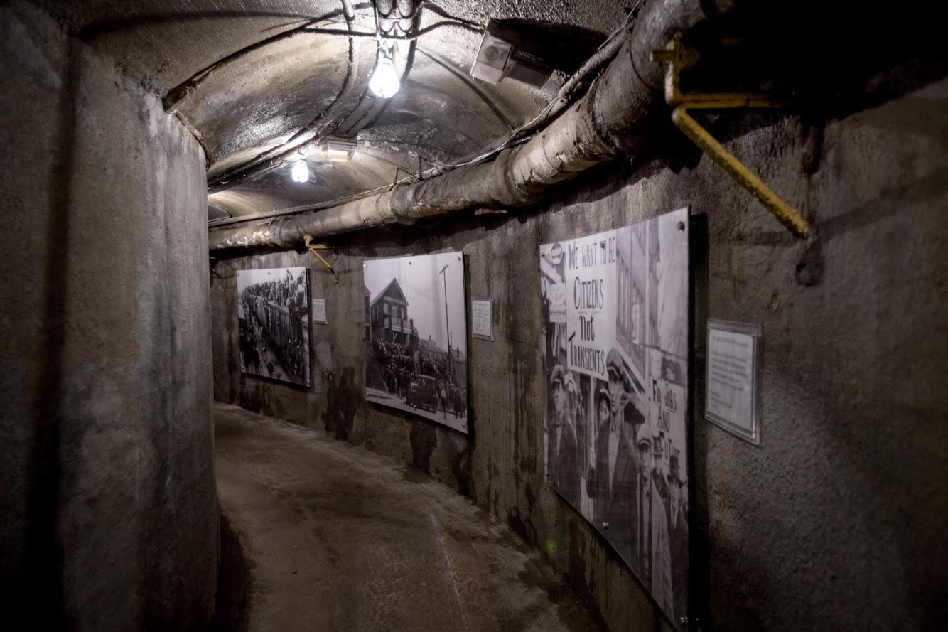 The Dark Side Tunnel Exhibit