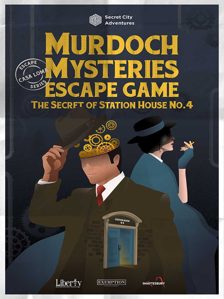 Murdoch Mysteries Escape Game: Secret Of Station House No. 4
